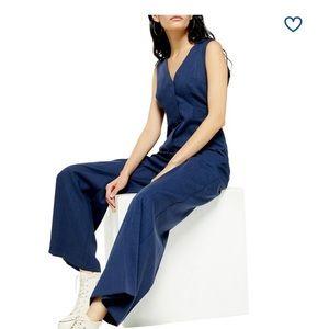 NWT TOPSHOP Sleeveless Jumpsuit Size 10